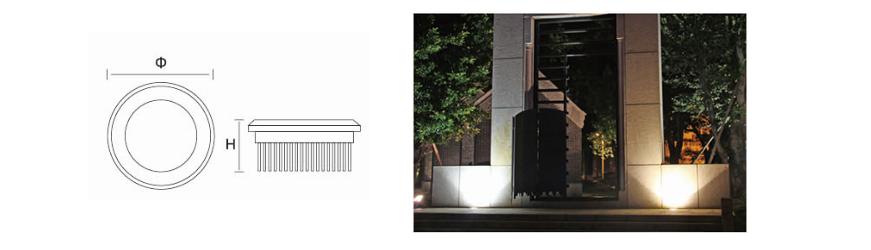 UG series Underground LED.UG series GLLL Underground LED.Durable and maintenance-free design